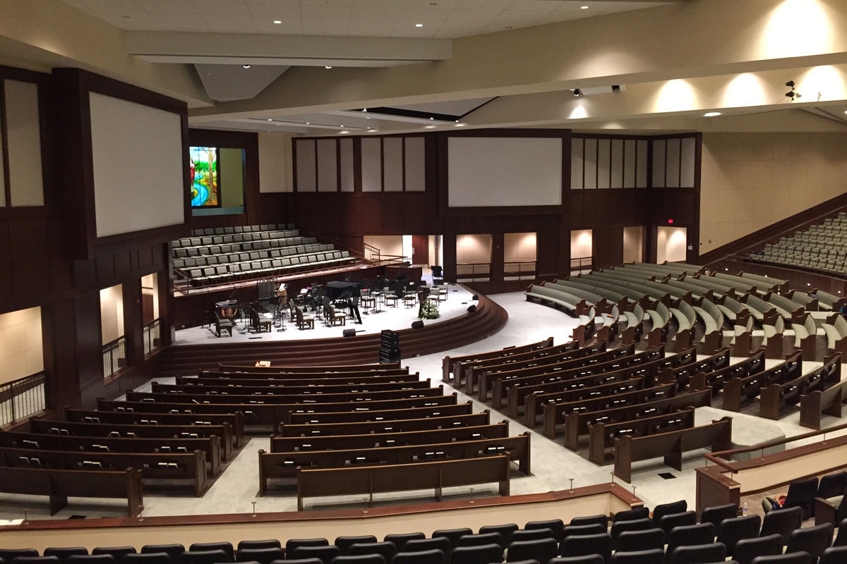 FBC Madison celebrates First Services in New Worship Center On Easter Sunday