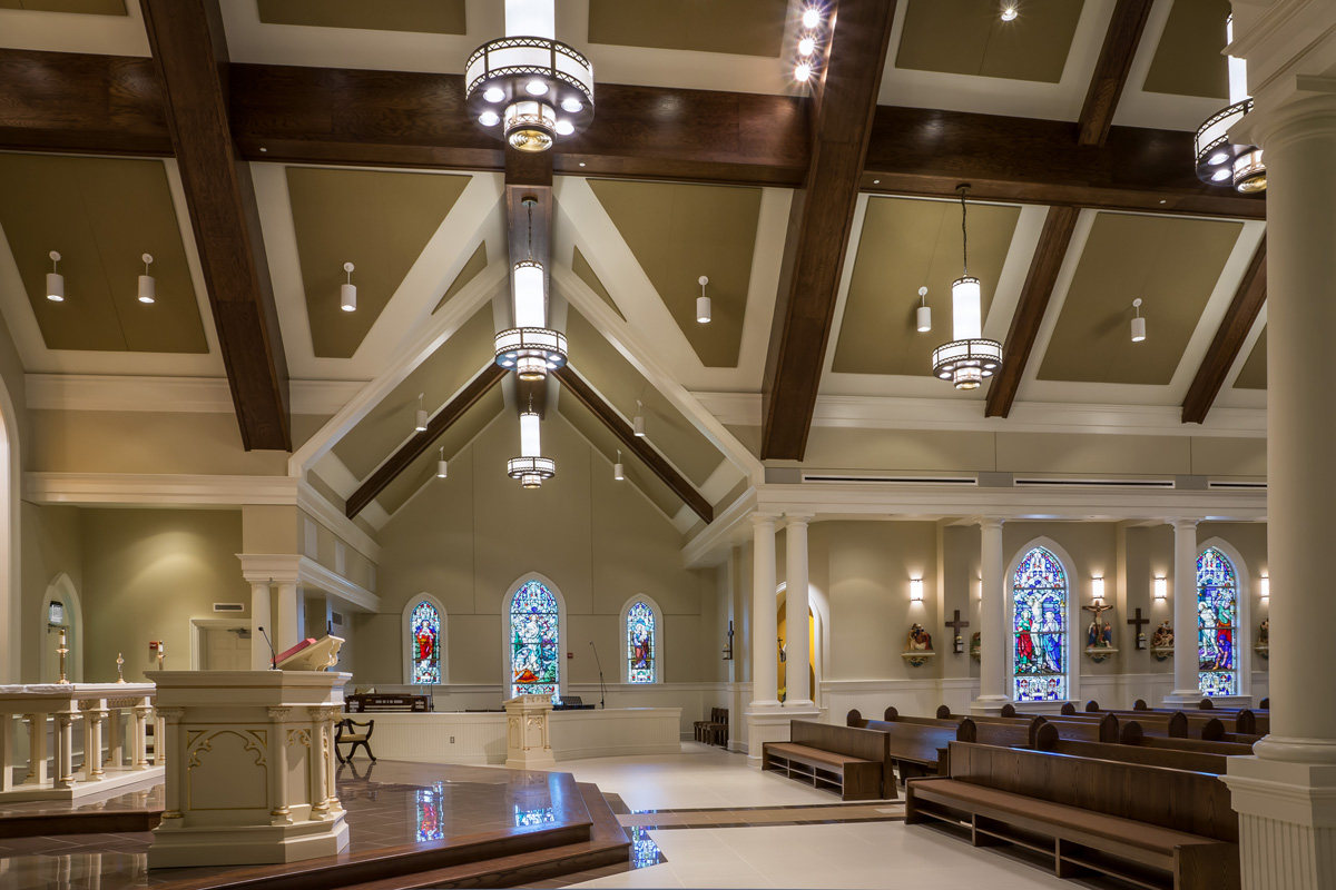 Holy Family Catholic Church Pass Christian Mississippi Jh H Architects,4 Bedroom House Designs Uk