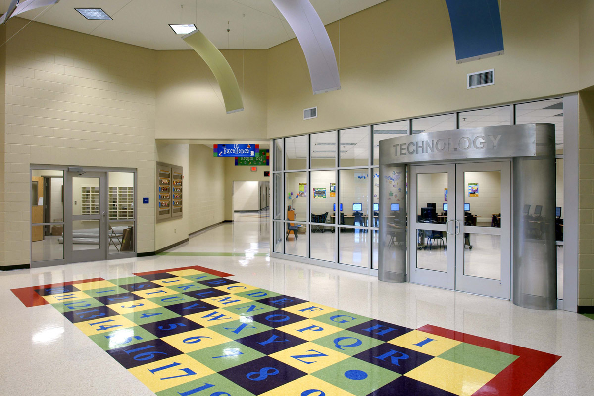 Mannsdale elementary school madison county school district jh h architects for Interior design schools in mississippi