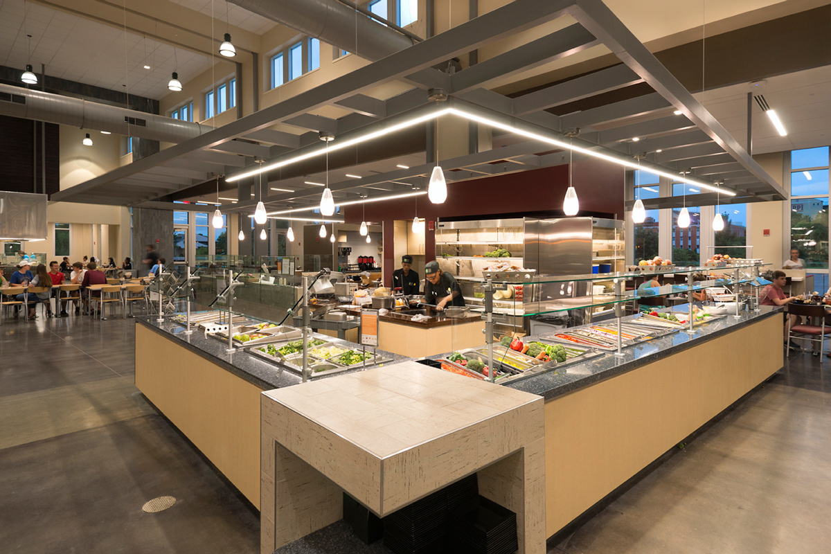 Fresh Food Company Dining Facility Mississippi State University Jh H Architects