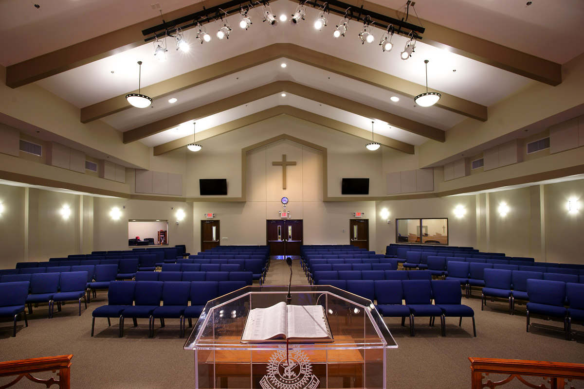 Salvation army worship and community center jh h architects for Interior design schools in mississippi