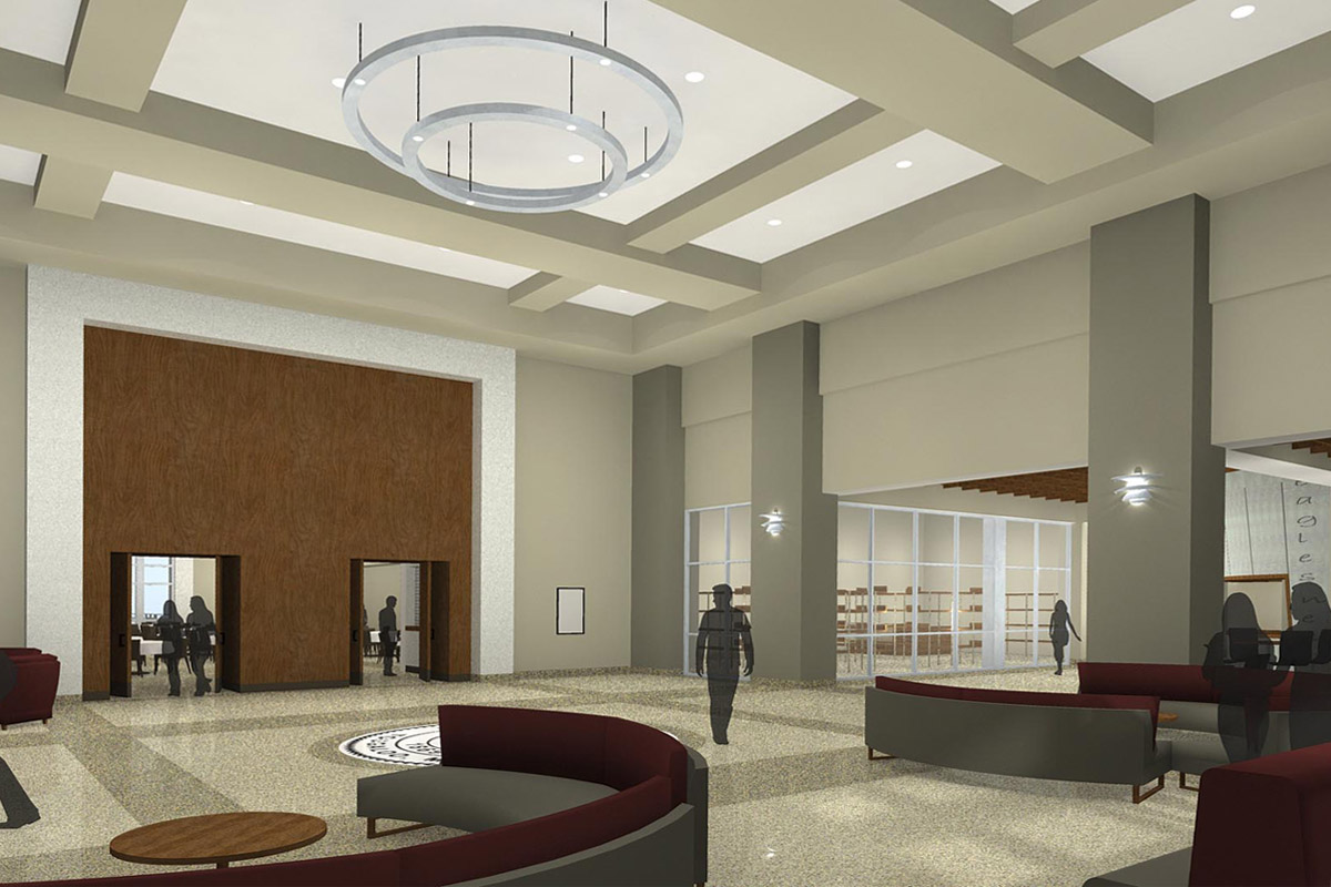 Tougaloo college new student union jh h architects - Interior design colleges in georgia ...