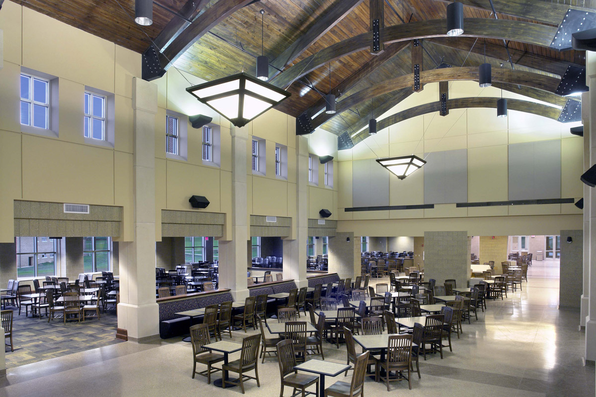 Bristow jr campus dining hall jh h architects for Hall to dining designs
