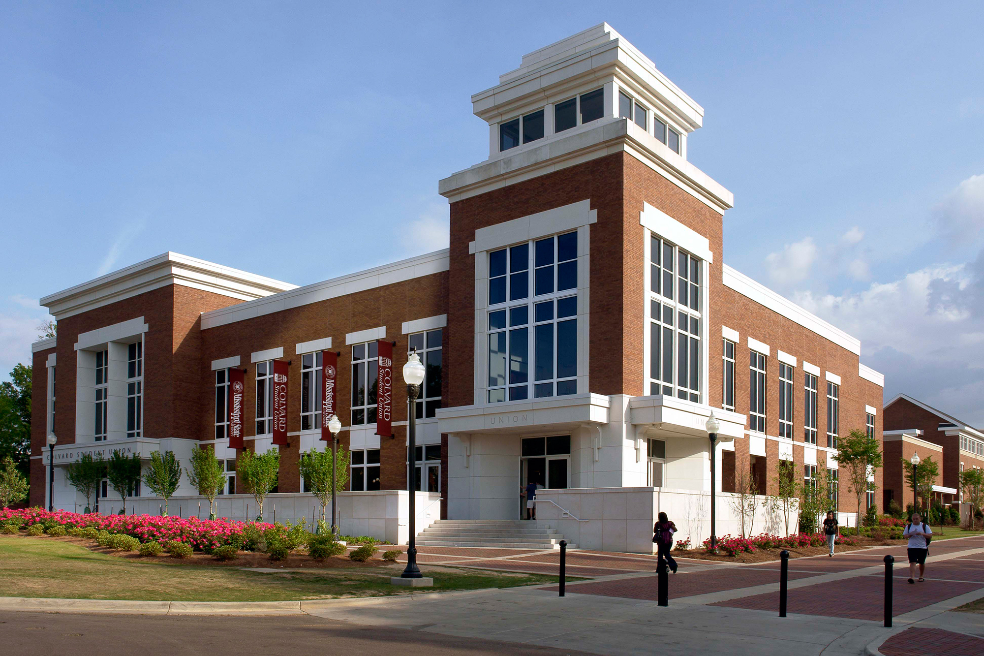 Front of the Colvard Student Union