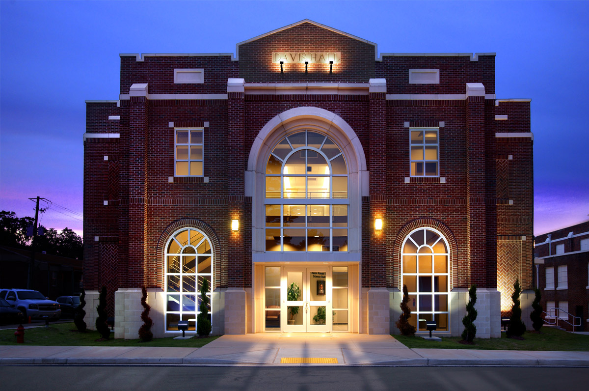 Davis Science Hall - East Central Community College